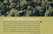 اعزام نیروهای عرب به جبهه های جنگ علیه ایران - لایه های پنهان جنگ ۷