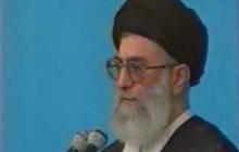 فیلم سخنرانی مقام معظم رهبری پس از واقعه ۱۸ تیر ۱۳۷۸ / ۲۱ تیر ۱۳۷۸