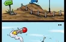 کاریکاتور/ جایگزین صهیونیستها برای گنبد آهنین