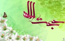والپیپر مزین به نام حجت الله