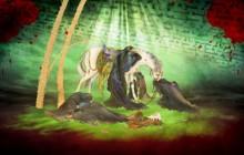 بنر محرم / شهادت امام حسین (ع) / به همراه فایل لایه باز (psd)