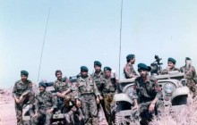 دوئل تکاوران ایرانی در اسکله البکر عراق