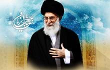تصویر مذهبی / امام خامنه ای / السلام علیک یا صاحب الزمان  / به همراه psd