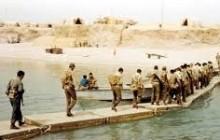 بزرگترین پل شناور نظامی در خیبر