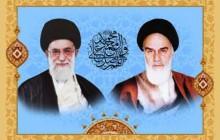 تصویر امام خمینی (ره) و امام خامنه ای (مدظله العالی) / به همراه فایل لایه باز (psd)