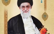 تصویر امام خامنه ای به همراه فایل لایه باز /برای سلامتی و بهبود مقام معظم رهبری دعا کنید