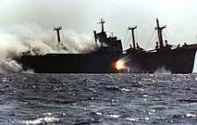 عملیات مروارید/سقوط در دریا و جدال با مرگ