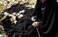 چادر بهشتی هدیه به خواهر