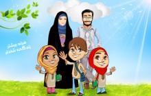 فایل لایه باز تصویر فرزند بیشتر زندگی شادتر