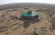 فیلم برداری هوایی از یادمان شهید اسکندرلو - قسمت اول