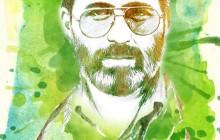 فایل لایه باز تصویر شهید آوینی / روز هنر انقلاب اسلامی