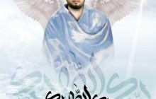 پوستر محسن حاجی حسنی کارگر / قاری قرآنی که در حادثه منا درگذشت