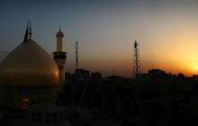عکس پانوراما از غروب حرم امام حسین (ع) - ashura