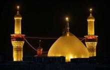 کلیپ تعویض پرچم حرم امام حسین (ع) با نوای لبیک یا حسین میثم مطیعی