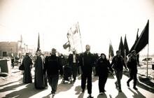 فیلم های خام از پیاده روی اربعین – قسمت چهل و چهارم (سیاه و سفید)