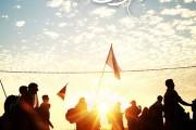 ۳ عکس از غروب مسیر پیاده روی اربعین - Arbaeen