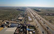 فیلم های هوایی پیاده روی اربعین - مشایه الأربعین - قسمت پنجم