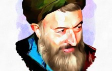 تصویرسازی چهره شهید بهشتی