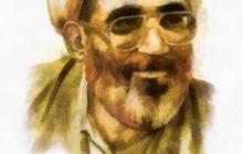 تصویرسازی چهره مرحوم حجت الاسلام صفایی حائری (عین صاد)