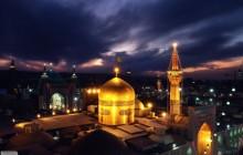 تصاویر هوایی از حرم امام رضا ( علیه السلام ) برای استفاده در نماهنگ و مستند
