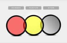 آموزش عکاسی(قسمت نهم)/انواع فیلترهای لنز دوربین