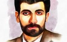 تصویر سازی چهره شهید محمود صارمی / روز خبرنگار
