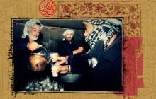 مجموعه نمایشگاهی عکس راهپیمایی اربعین /  عکس سیزدهم / فعالیت خادمین