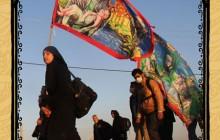 راهپیمایی اربعین حسینی ، مشایة الأربعین ، arbaeen