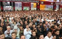 نماز در حرم امام حسین علیه السلام