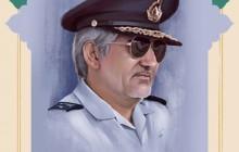 فایل لایه باز نقاشی چهره شهید منصور ستاری
