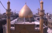 فیلم خام از گنبد قدیمی حرم امام علی علیه السلام - قسمت ۳