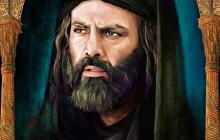 نقاشی چهره مختار ثقفی نمونه از آثار آقای کاظم علیرضا