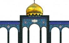 تصویر نمادین حرم حضرت زینب(سلام الله علیها) مناسب برای طراحی دکور