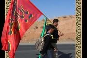 فایل لایه باز تصویر زائران پیاده امام رضا (ع) ۳