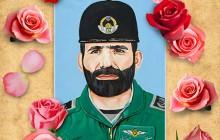 فایل لایه باز نقاشی چهره شهید مصطفی اردستانی / شهدای شهر من
