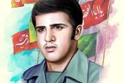 فایل لایه باز تصویر شهید سید مصطفی رضوی