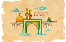 فایل لایه باز تصویر نقاشی حرم امام حسین (ع)