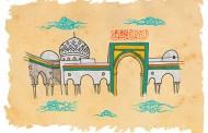 فایل لایه باز نقاشی حرم حضرت رقیه (س) / تصاویر مخصوص کودکان