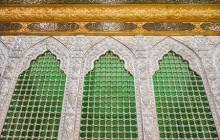 ۱۰ عکس از ضریح جدید اصحاب امام حسین (ع)