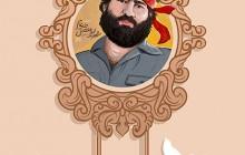 فایل لایه باز تصویر شهید ابوالفضل (شاهرخ ) ضرغام  / حر انقلاب