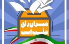 فایل لایه باز تصویر شرکت در انتخابات آبروی کشور است