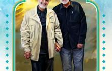 فایل لایه باز تصویر شهید قاسم سلیمانی و شهید ابومهدی المهندس