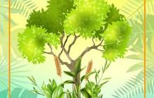 فایل لایه باز تصویر روز درختکاری