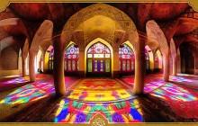 فایل لایه باز تصویر ایرانگردی / مسجد نصیر الملک فارس