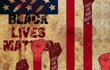 تصویر / black lives matter / زندگی سیاه پوست ها اهمیت دارد