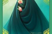 فایل لایه باز تصویر حجاب / پوشیدگی زن برای او بهتر است