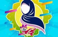 فایل لایه باز تصویر حجاب / عفت، برترین عبادات است