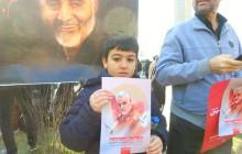 راش ( فیلم خام ) مراسم تشییع شهید حاج قاسم سلیمانی - ۰۲