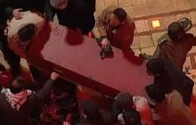 راش ( فیلم خام ) مراسم تدفین شهید حاج قاسم سلیمانی