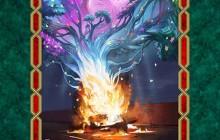 فایل لایه باز تصویر عشق آتش را گلستان می کند